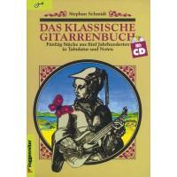 Voggenreiter Das klassische Gitarrenbuch   CD
