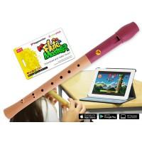 Voggenreiter Flute Master App mit Blockfl    te Holz