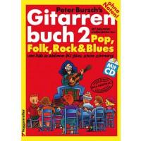 Voggenreiter Gitarrenbuch 2 von Peter Bursch   CD