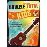 Voggenreiter Ukulele total Kids   CD