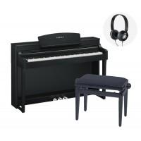 Yamaha CSP 150 black Piano Bundle  5 Jahre Garanti