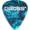 Boss BPK 12 OM Picks Ocean Turquoise Medium 12er
