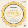 D'Addario Cavaquino Set, Stainless Steel .011-.028