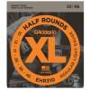 D'Addario EHR310 Half Round Stainless .010 - .046