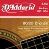 D'Addario EJ12 Ac. Bronze Wound .013-.056
