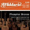 D'Addario EJ15 Phosphor Bronze Wound .010 - .047