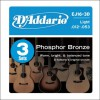 D'Addario EJ16-3D Ac. Phosp. Bronze .012-.053 3er