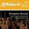 D'Addario EJ19 Ac. Phosphor Bronze .012 - .056