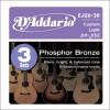 D'Addario EJ26-3D Ac. Phosp Bronze .011 - 0.52 3er
