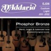 D'Addario EJ26 Phosphor Bronze Wound .011 - .052