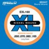 D'Addario EXL160 Nickel Longscale .050 - .105