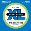 D'Addario EXL165 Nickel Longscale .045 - .105