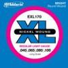 D'Addario EXL170 Nickel Longscale .045 - .100