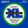 D'Addario EXL220-5 Super Long Sc. 5 S. .040 - .125