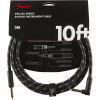 Fender Deluxe Cable Angled Black Tweed 3m