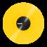 Serato Control Vinyl Performance Yellow
